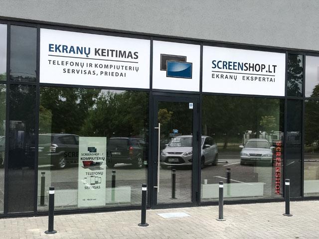 Screenshop ekranų keitimas Kaune Apple servisas Samsung servisas telefonų remontas