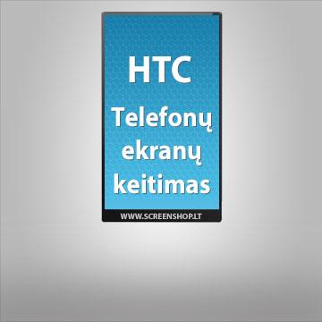 HTC ekranai ir stikliukai