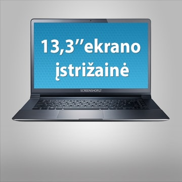 """13.3"""" kompiuterio ekrano įstrižainė"""