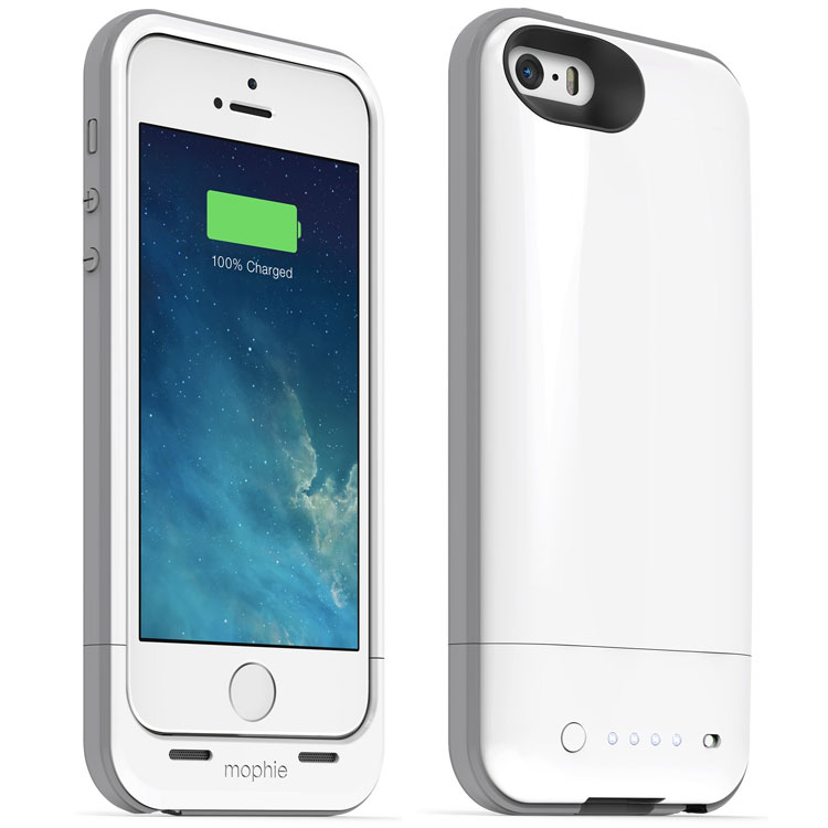big sale 6a1c0 3f3c6 Mophie iPhone 5/5S/SE Juice Pack Air - White