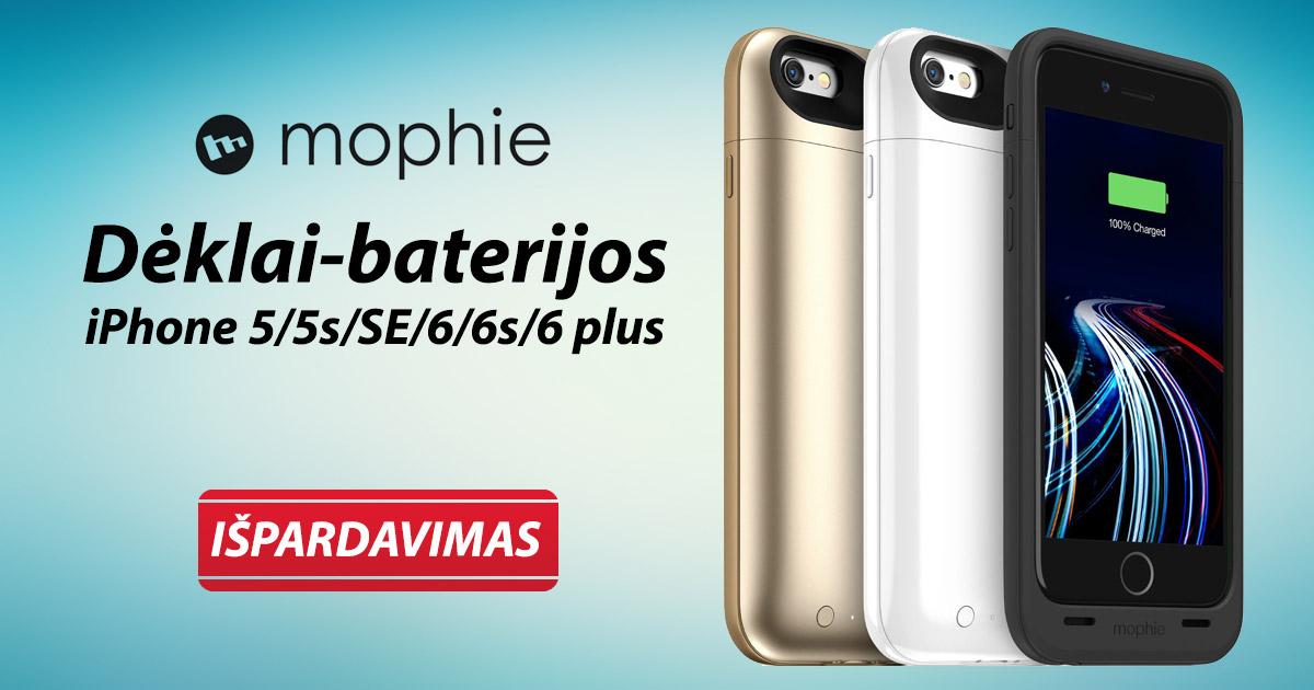 mophie-baterijos-deklai-iphone-telefonams