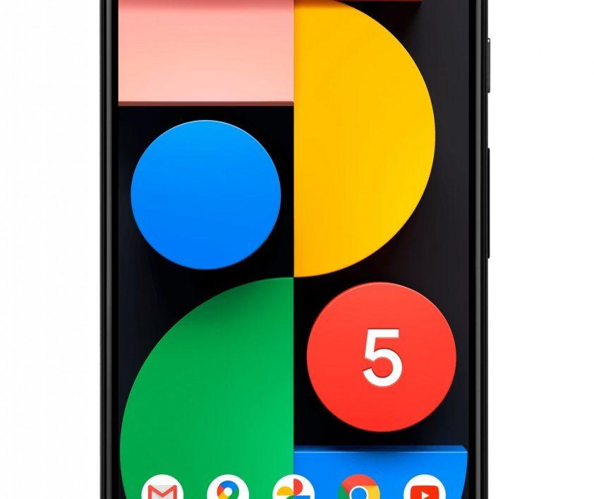 google pixel 5 ekrano keitimas