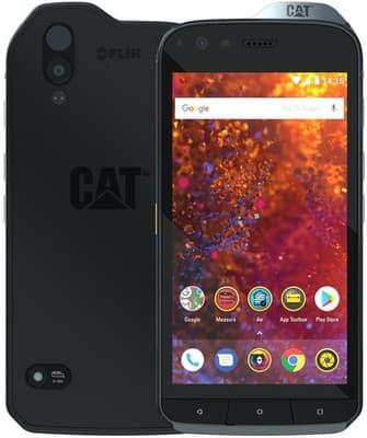 CAT S61 telefono ekrano keitimas remontas taisymas